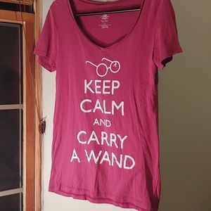 Bluenotes Keep Calm and Carry A Wand T